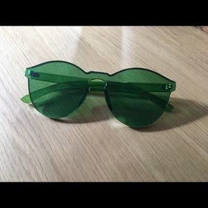Accessories - Rimless Sunglasses